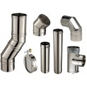 Conduit simple inox 316L