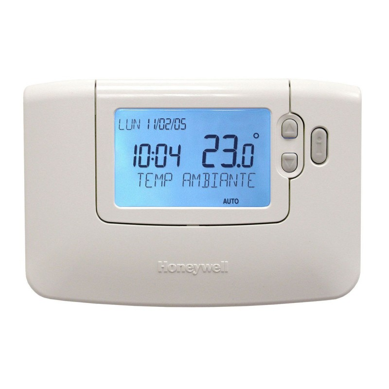 thermostat d 39 ambiance programmable filaire honeywell. Black Bedroom Furniture Sets. Home Design Ideas